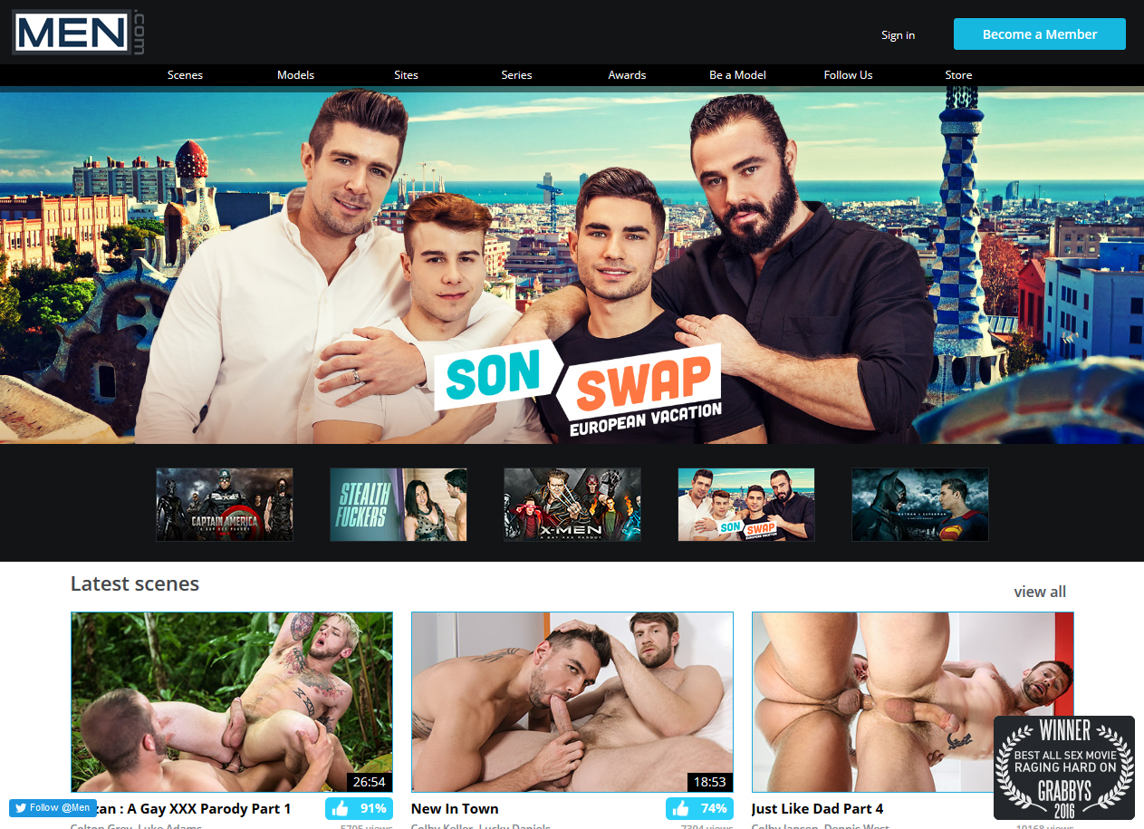Hotest gay porn websites